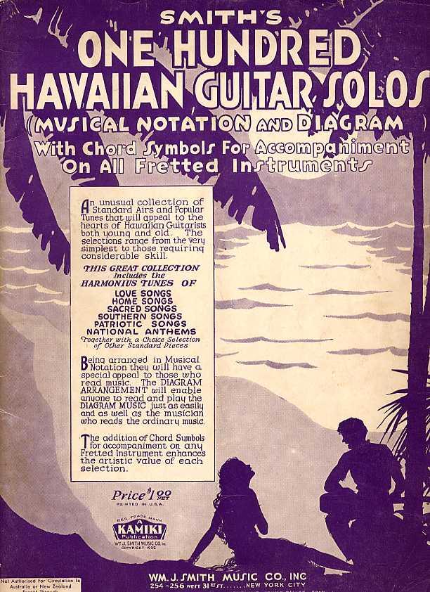 Hawaiian Guitar Method Books